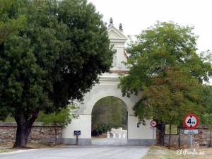 Arco de entrada a la Quinta del Duque del Arco