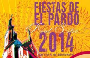 Cartel Fiestas de El Pardo 2014